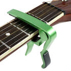 New Change Keys Capo Clamps for Electric Acoustic Guitars Quick Trigger Release