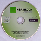 H&R Block TaxCut At Home; Premium: 2006, 2007 and Deluxe: 2002, 2009, 2010