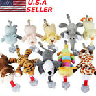 Lovely Kids Baby Pacifier Holder Hanging Removable Plush Animal Doll Toy Soother