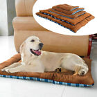 Large Dog Bed Indestructible Plush Pet Cat Sleeping Mat for Kennel Crate Cush