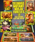 1991 Topps Teenage Mutant Ninja Turtles II MOVIE Secret of the Ooze You Pick-1