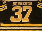 37 Patrice Bergeron Boston Bruins Stanley Cup Finals Jersey