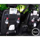 Leather Car Seat Back Organizer Tablet Holder Universal Car Seat Back Protector