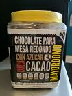 Cacao Chocolate Mayordomo, hokey pucks size pieces renders up to 6 litters
