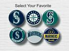 "Seattle Mariners Buttons 1.25"" Baseball Hat T-Shirt Jersey Pins Badge Patch Logo on Ebay"