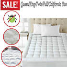 Mattress Cover Protector Waterproof Pad All Sizes Bed Cover Hypoallergenic image