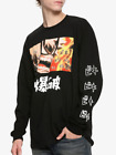 Anime My Hero Academia BAKUGO Long Sleeve T-Shirt NEW Authentic & Official image