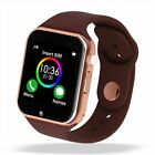 New! Waterproof Bluetooth Smart Watch Phone Mate For IOS Android cell phone