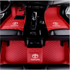 Luxury Custom Car Floor Mats For Corolla Sedan/Hatchback 4-Door 2007-2019