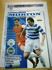 Morton V Buckie Thistle 3rd round Scottish Cup Programme and team sheet