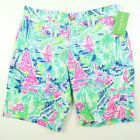 Lilly Pulitzer Mens Multi-Color Beaumont Shorts Salt In The Air Pick Size