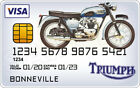 Triumph Motorcycle Novelty Plastic Credit Card €2.72 EUR on eBay