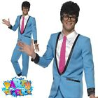 Adult 1950s Teddy Boy Diner Girl Costume Mens Womens Retro Fancy Dress Outfit