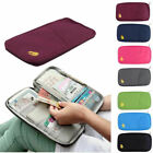 'Travel Bag Wallet Purse Document Organiser Zipped Passport Tickets Id Holder Uk
