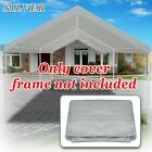 Replacement Canopy for 10x20' Carport Tent Top Garage COVER ONLY w Bungee Cords