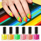 BORN PRETTY 6ml Fluorescence Nail Polish Summer Series Colorful Nail Art Varnish