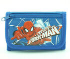 Spiderman Kids Wallet with Photo ID Holder Coin Pocket Trifold for Boys Toddlers