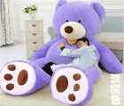HUGE GIANT TEDDY BEAR HIGH QUALITY COTTON PLUSH LIFE SIZE STUFFED ANIMAL80-340CN