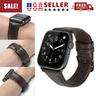 For 38/42mm Genuine Leather iWatch Band Strap Bracelet AppleWatch Series 4 3 2 1