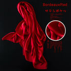 Silk Scarf Long Scarf Shawl and Female Heavy Summer Air Conditioning Color Satin