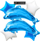 DOLPHIN WATER BALLOON balloons BIRTHDAY PARTY SUPPLY DECORATIONS