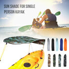 Universal Kayak Boat Canoe Sun Shade Canopy Awning Top Covers for Single-Person