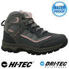 LADIES HI TEC LEATHER WALKING HIKING WATERPROOF ANKLE BOOTS TRAINERS SHOES SIZE
