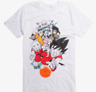 Anime DRAGON BALL Z CLASSIC GROUP SHOT T-Shirt NEW Authentic & Official image