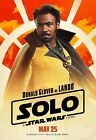 Solo A Star Wars Story Movie Donald Glover, Lando Calrissian Poster 12x18 24x36 $4.23 USD on eBay