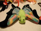 TY BEANIE BABIES HAIRY GLOW SPINNER SCURRY FLOAT CLAUDE SPIDER BUTTERFLY BUG
