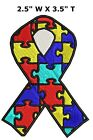"""Awareness Support Ribbons - 3.5"""" Embroidered Patch Iron / Sew-on Gear Applique"""