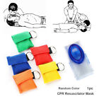 Artificial respiration CPR Resuscitator Mask Emergency Aid Face Shield