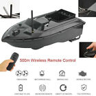 500M Wireless Remote Control Fishing Bait Boat Waterpoof Ship Fish Finder Black