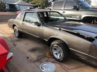 1987 Chevrolet Monte Carlo SS 1987 Monte Carlo SS project car with extras
