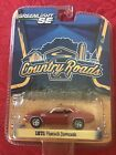 GREENLIGHT SE COUNTRY ROADS 1971 PLYMOUTH BARRACUDA ORANGE SERIES:11 NO RESERV