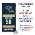 NFL LOS ANGELES CHARGERS FOOTBALL CUSTOMIZED PHONE CASE FOR iPHONE SAMSUNG etc $24.98 USD on eBay
