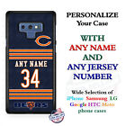 CHICAGO BEARS FOOTBALL JERSEY CUSTOMIZED PHONE CASE COVER FOR iPHONE SAMSUNG etc $19.98 USD on eBay