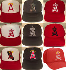 Angels Baseball Los Angeles Anaheim California Polyester Foam Mesh Trucker Hats on Ebay