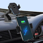 Fast Qi Wireless Charger Car Charging Dock Bracket Holder For iPhone 8 X XS XR