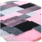 Profleece Premium Vet Bedding Whelping Non Slip 1200gsm pink/charcoal patchwork