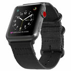 Replaces For iWatch Apple Watch Series 3 2 1 42mm Nylon Woven Band Strap New