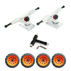 "Pro Reinforce 7"" Gravity Casting Truck with 76mm Off-road TPR Bearing Wheels kit image"