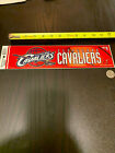 "Cleveland Cavaliers Various 12"" x 3"" NBA Stickers on eBay"