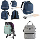 Fashioned Baby Diaper Bag with USB Interface Shoulder Mommy Backpack