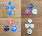 Callaway magnetic golf ball marker (in sets of 2, 3 & 4)