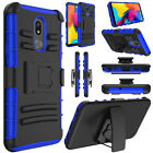 For LG Stylo 5/Stylo 4/Plus Case Hybrid Holster Belt Clip Hard Stand Phone Cover