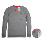 NWT Hollister by Abercrombie & Fitch Mens Long-Sleeve T-Shirts Size S,M,L,XL