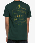 THE LORD OF THE RINGS GREEN DRAGON T-Shirt NEW Licensed & Official image