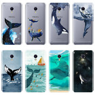 Back Cover For Meizu M2 M3 M5 M6 Note Whale Fish Wave Ocean Soft Silicone Phone