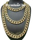 Kyпить ICED Miami Cuban Choker Link Chain Men's Hip Hop Necklace Gold / Silver Plated на еВаy.соm